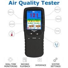 PM 2.5 Gas Detector Portable Air Analyzer Air Quality Detector Monitor TVOC PM10 Formaldehyde Multi-function Gas Detector цена 2017