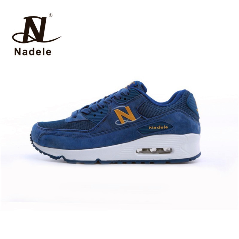 Nadele Running shoes Mens sneakers Breathable Outdoor Athletic walking sport Jogging shoes size 40-44  2017 mens running shoes breathable male outdoor walking sport shoes new man athletic sport sneakers for adults