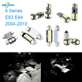 XIEYOU 11pcs LED Canbus Interior Lights Kit Package For 6 Series E63 E64 (2004-2010)
