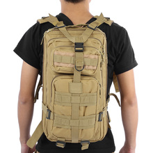 9 Color Unisex Outdoor Military Army Tactical Backpack Trekking Travel Rucksack Camping Hiking Trekking Camouflage Bag(China)