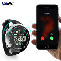 LOKMAT Sport Watch Bluetooth Waterproof Men Smart Watch Digital Ultra-long Standby Support Call And SMS Reminder SmartWatch 5