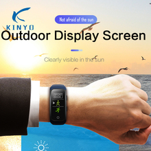 Greatest promoting Sports activities band Optical Coronary heart Price Monitor well being Tracker good bracelet IPS coloured display screen health band pk mi band 3