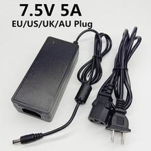 7.5V 5A Ac/Dc Adapter Universele Adapter 7.5 Volt Voeding Switching Adapter 7.5V5A Eu Ons Uk au Plug Kabel 5.5 Mm * 2.1 Mm