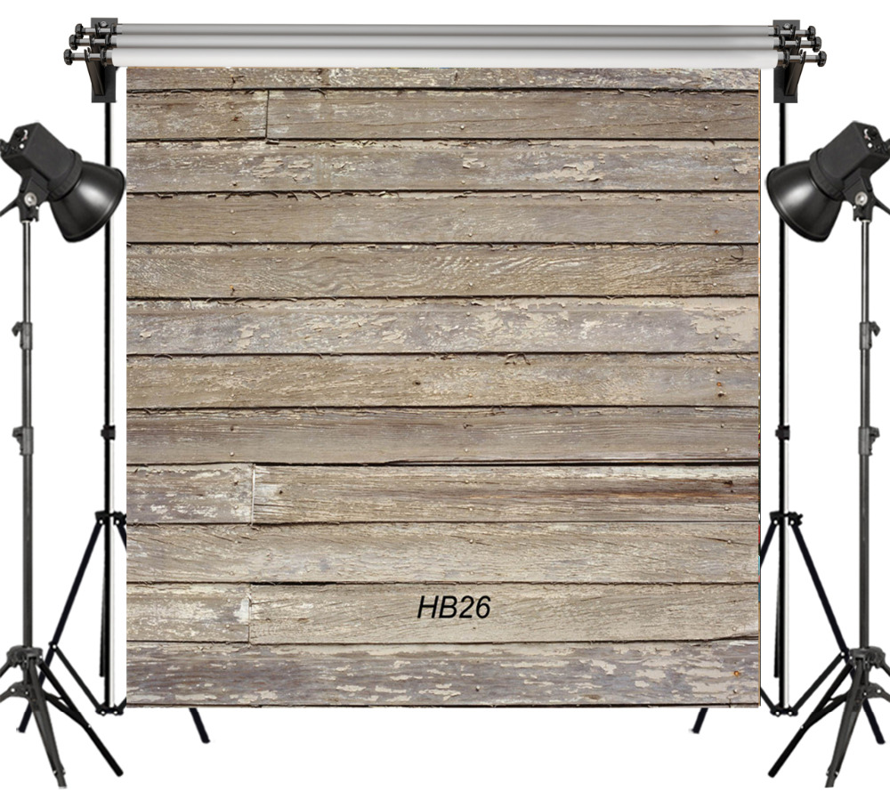 6x6FT Vintage Old Wooden Board Grunge Newborn Seamless Washable No folds 100% Polyester Backdrop Background Photography Studio
