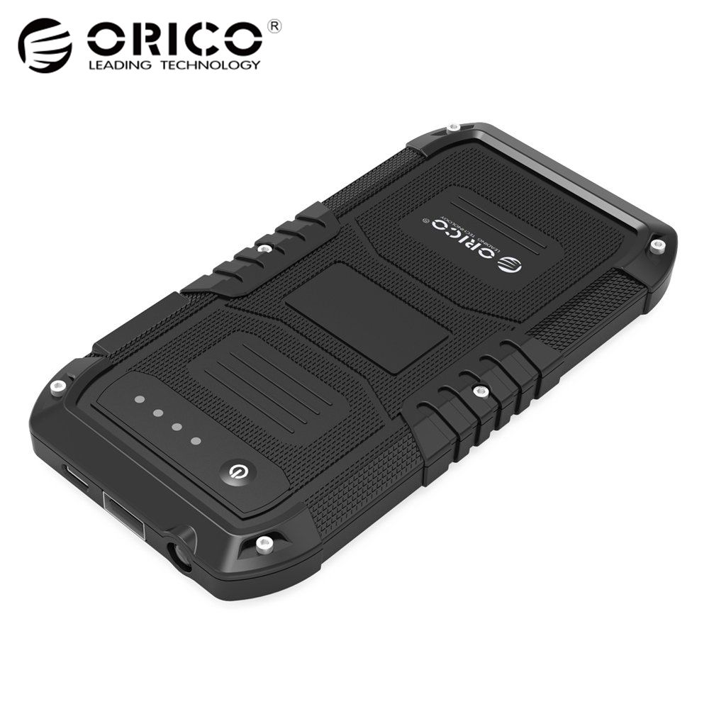 ORICO Multi-function 4000 мАч автомобиль аварийный аккумулятор зарядное устройство мини портативный мобильный запасные аккумуляторы для телефонов ...