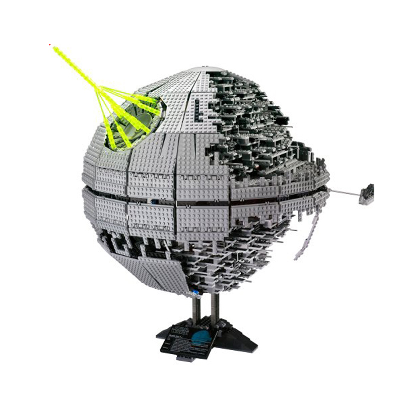 LEPIN 05026 3449Pcs Death Star II Wars Kits The Second Generatio Building Blocks Bricks Toys Compatible with 10188 Children Gift 05026 star 3449pcs wars death toy star ii model building blocks kits bricks children diy kid toys gift lepin compatible 10143