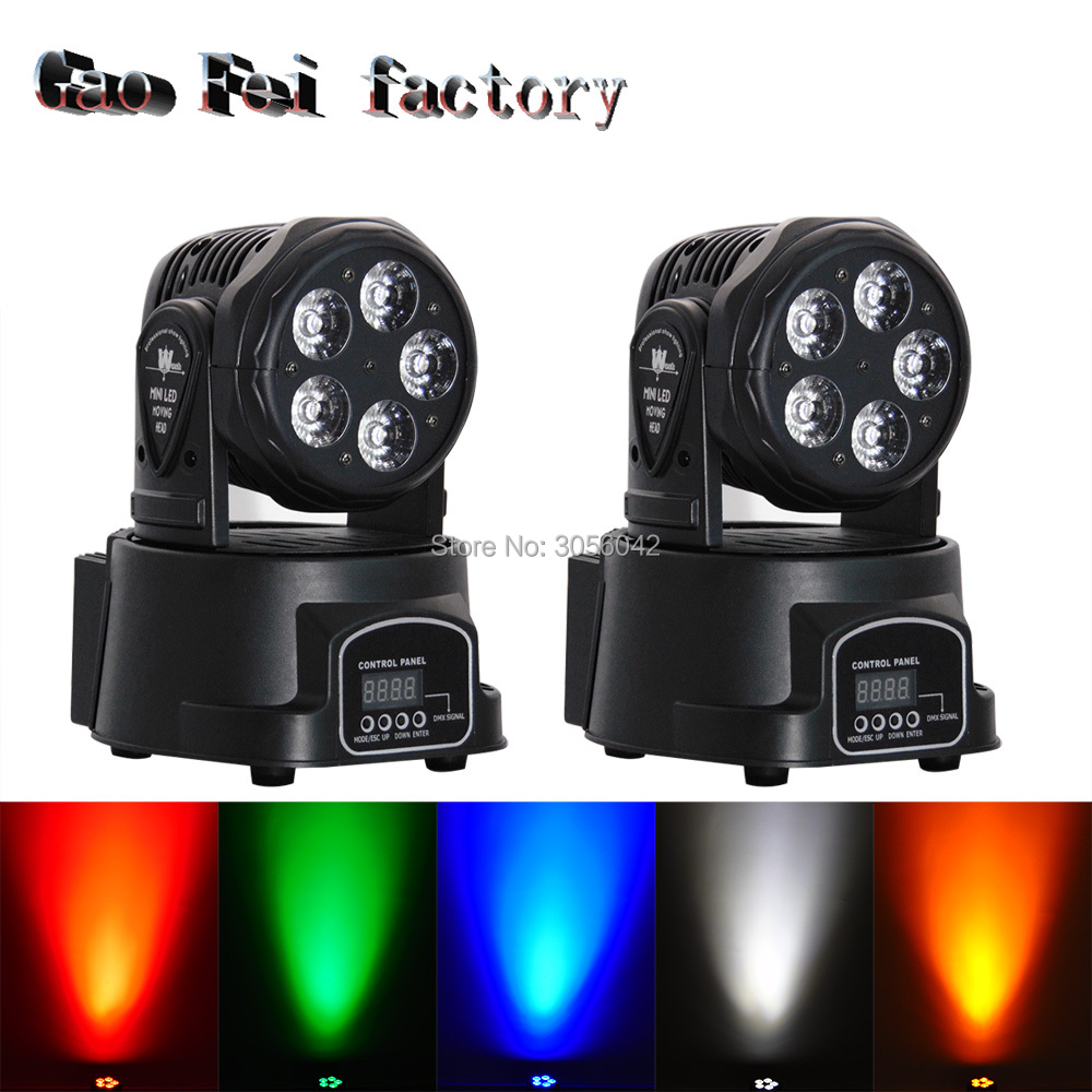 2pcs/lot 5*15W LED LED RGBWA+UV 6in1 moving head light / wash light / DMX control stage lighting DJ equipment 10pcs lot cheap stage light 36 15w 5 in 1 led zoom moving head wash light rgbwy color mixing dmx512 lighting control