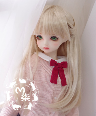 1/8 1/6 1/4 1/3 uncle BJD SD DD Doll accessories wigs gold long straight hair 1 6 1 4 1 3 bjd sd dd doll accessories doll clothes red fleece for bjd sd doll