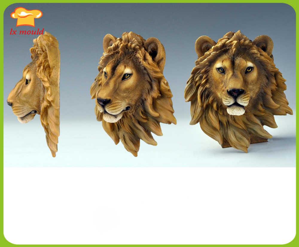 order online thoughts on undefeated x 2019 nuevo molde artístico de silicona cabeza de león ...