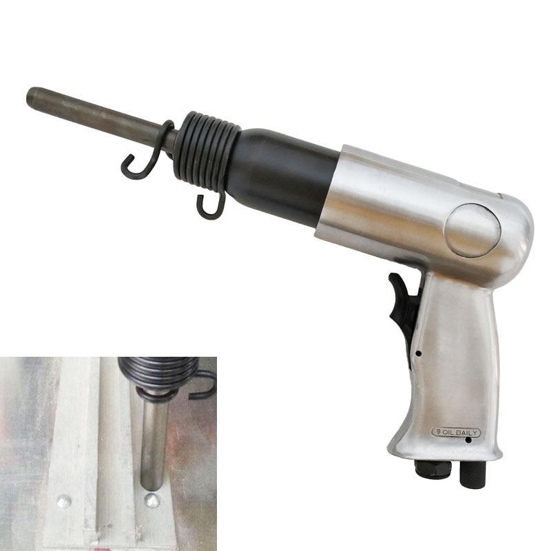 Pneumatic Solid Aluminum Rivet Gun Road Advertising Signs Rivet Hammer M4 M5 Solid Rivets Universal