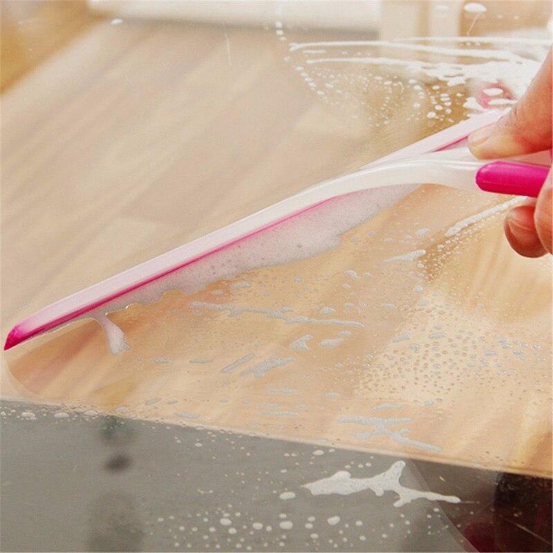 Escurridor De Ventana De Cristal De Limpieza Limpie De Goma Hoja De Pantalla De Ducha Lavadora