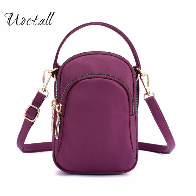 Female Casual Nylon Waterproof Messenger Bags Shoulder Bags Female Satchel Bolsas  Small Travel Women Crossbody Bags