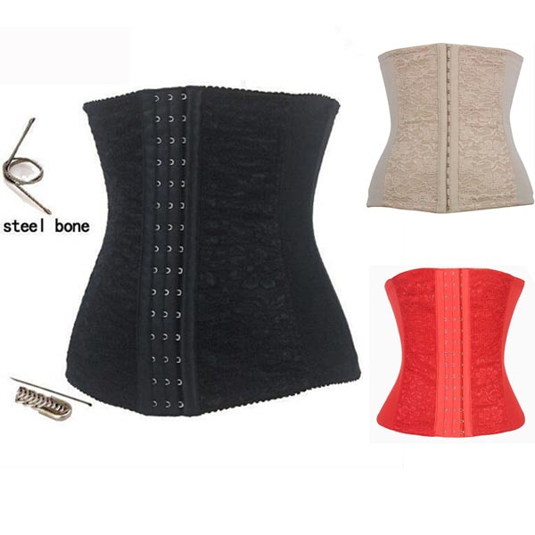 New Full Steel Bone Waist   Corset   Hanging Shoulder Sexy Leather   Bustiers   For Women Push Up   Corset   XS To 6XL