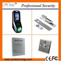 Лица контроля доступа kit в том числе лица контроллер доступа + кнопка выхода + 12V5A питания + EM lock + boly замок контроля доступа камеры