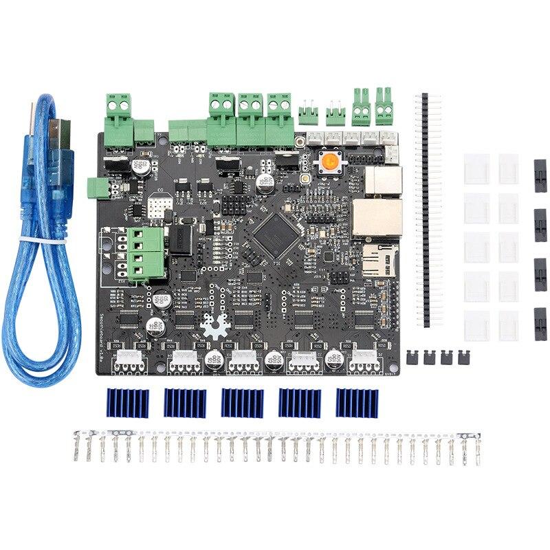 12-24 v Smoothieboard 5X V1.0 carte mère BRAS Ouvert-Source Matériel CNC contrôleur A5984 pilote pour machine à sculpter 3D imprimante