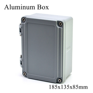 FA13 185x135x85mm IP65 Waterproof Terminal Metal Aluminum Junction Box Electronic Project Enclosure Instrument Case Outdoor