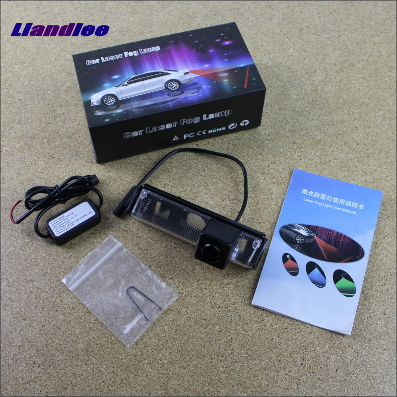 Liandlee Car Tracing Cauda Laser Light For Mitsubishi Pajero Sport / Pajero Dark 2008~2015 Anti Fog Lamps Rear Lights car tracing cauda laser light for volkswagen vw jetta mk6 bora 2010 2014 special anti fog lamps rear anti collision lights