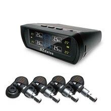 SZDALOS TP400 TPMS Красочный Солнечный Авто взимается Дисплей с внутренние датчики Беспроводной Универсальная система контроля давления в шинах