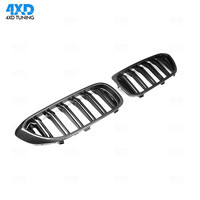 G30 G38 Front Grille For BMW New 5 series Carbon Fiber Front Bumper lip Front Grille Gloss Black Car Styling 2017 2018 2019