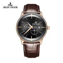 Reef Tiger/RT Watch for Men Luxury Casual Top Brand Automatic Watches Waterproof Relogio Masculino RGA8219(China)