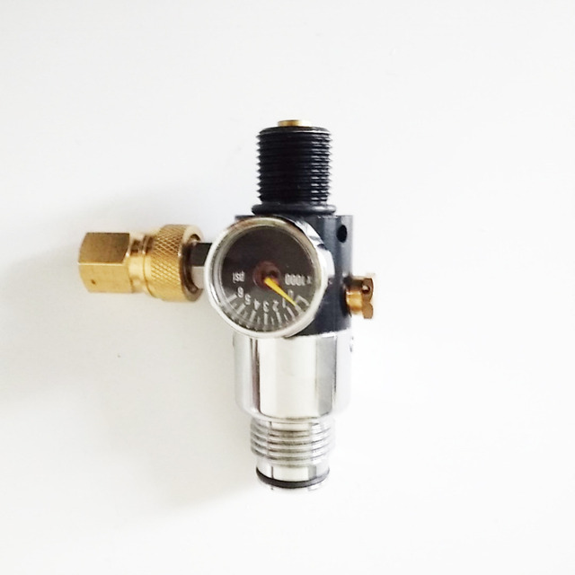 FADA-3 valve regulator Carbon fiber cylinder use regulator ,SCBA regulator for paintball--C