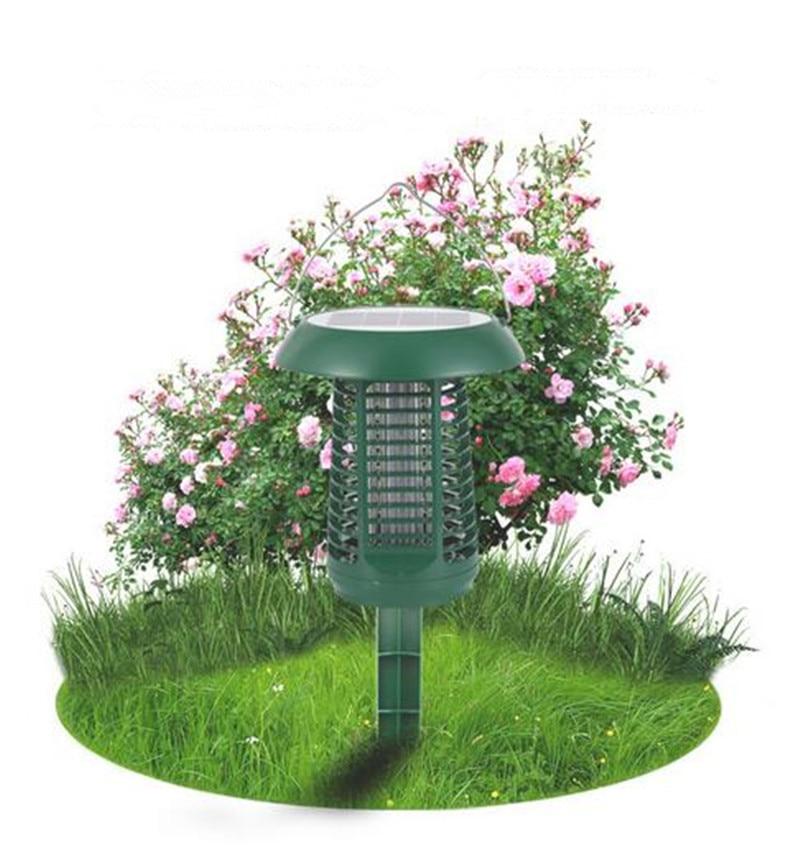 Lampe électrique Rechargeable imperméable de jardin de lampe de tueur de moustique d'abs de tueur de moustique