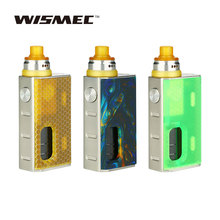 Original Wismec LUXOTIC BF Squonker Kit W/ 7.5ml Squeeze Bottle Luxotic BF BOX Tobhino BF RDA New Squonker Kit with Tobhino Vape
