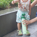 Crianças Mictório Portátil Viagem Camping Carro Higiênico Potty Pee Bottle 600 ml Verde