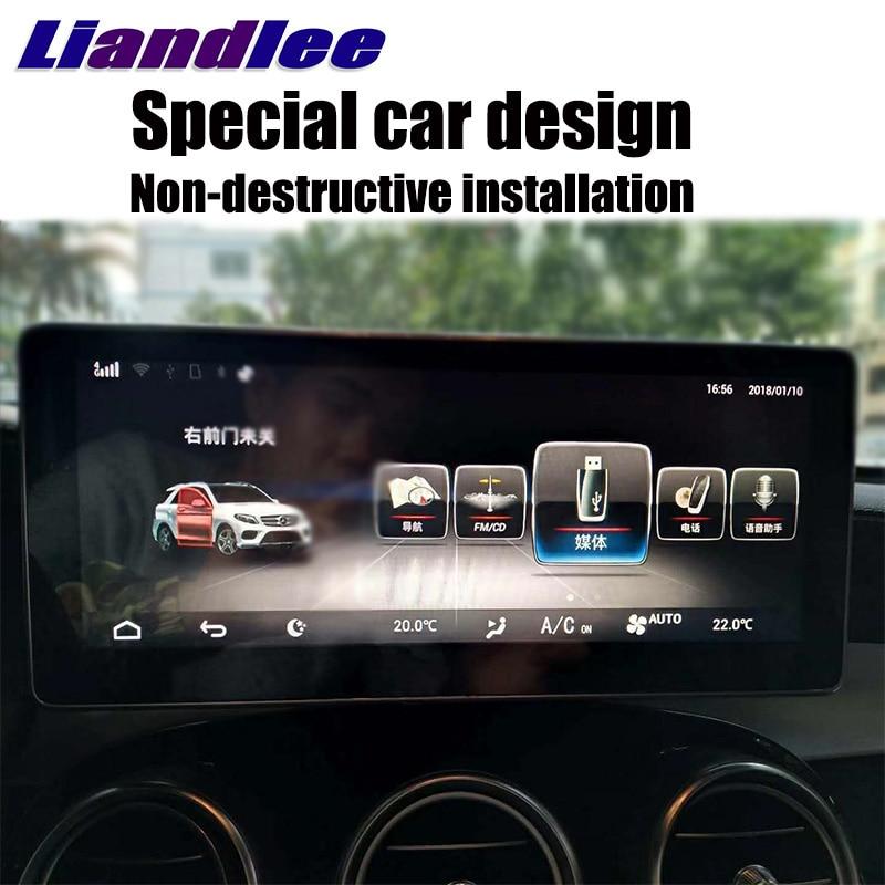 For Mercedes Benz MB GLC Class X253 C253 2015~2018 Liislee Navi Car Multimedia Player Original Car Radio Stereo GPS Navigation цены онлайн