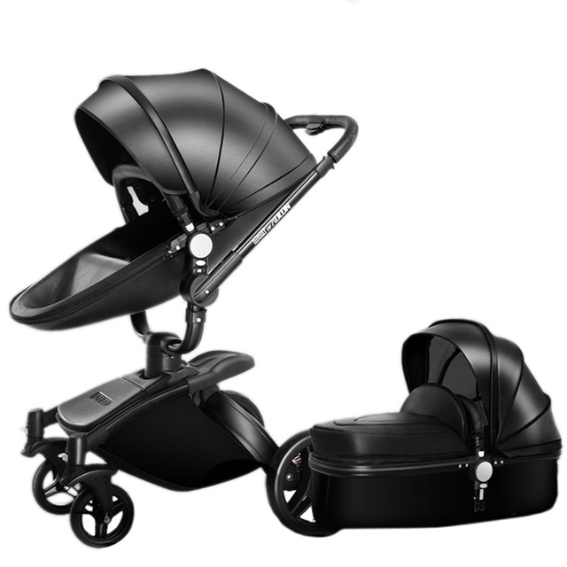 Baby Stroller 2 In 1 3 With Car Seat High Landscope Folding Carriage