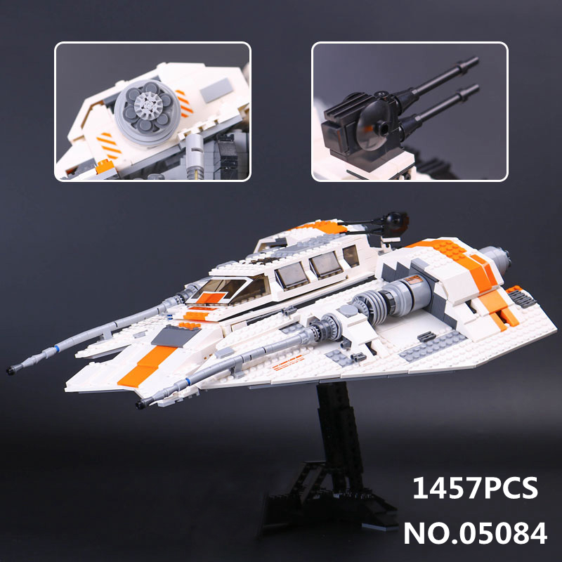 1457pcs Star The Rebel Snowspeeder Model Wars Series Building Blocks Bricks Toys for Children Gift Compatible with 10129 05084 single sale star wars superhero orca shark series building blocks model bricks toys for children brinquedos menino