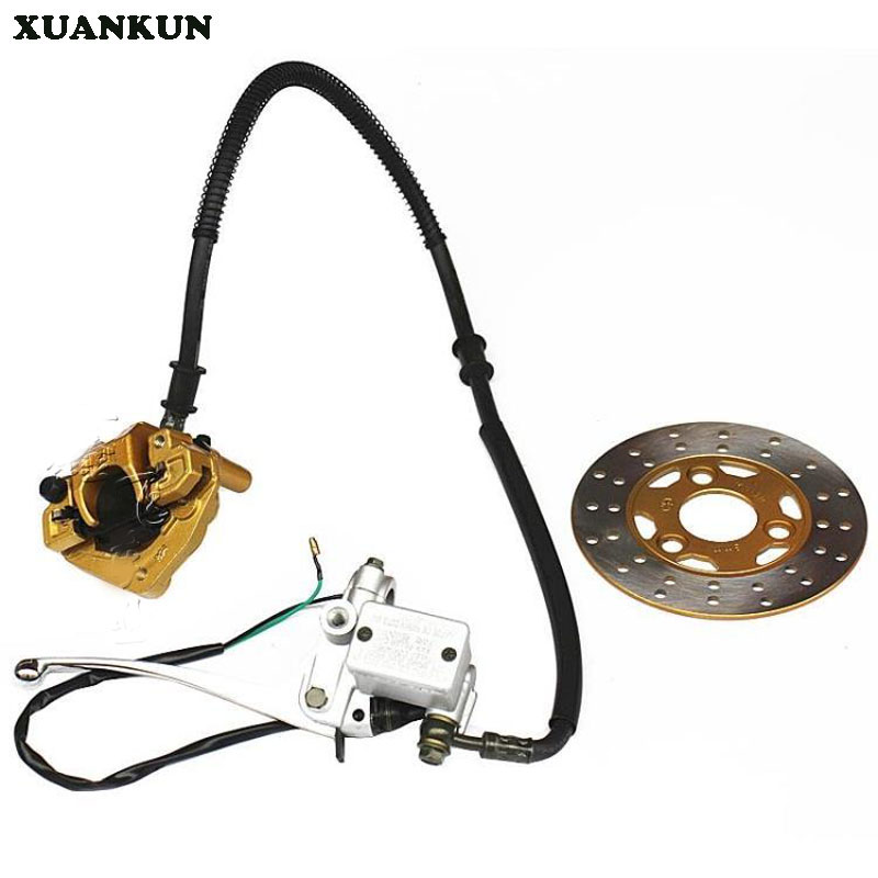 XUANKUN Monkey Motorcycle Modified Accessories Before The Disc Brake Assembly Brake Assembly With A Disk navy monkey with smile