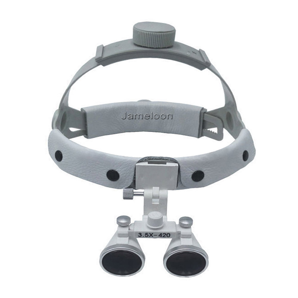 3.5X magnification high quality adjustable angle easy wearing dental loupe surgeon medical enlarging lens surgical magnifier