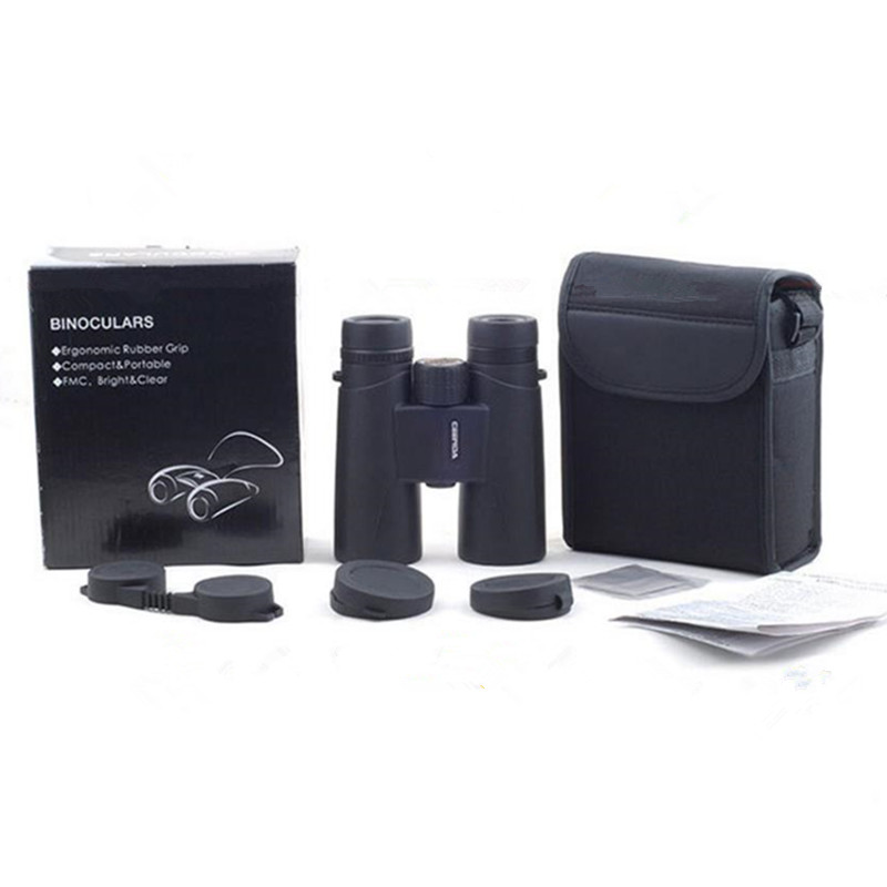 Binoculars 10x42 12x42 High Powerful BAK4 Prism Zoom Great Handheld Telescope lll night vision Military HD Professional Hunting
