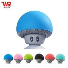 WPAIER Cartoon Mushroom Wireless Bluetooth font b speaker b font waterproof sucker mini bluetooth font b