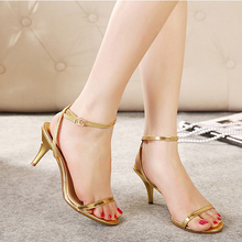 Fashion Pop Arrival New-selling Summer Peep Toe Sweet  Women's Sandals Thin Heel Pumps Princess High Heels Women Shoes 50