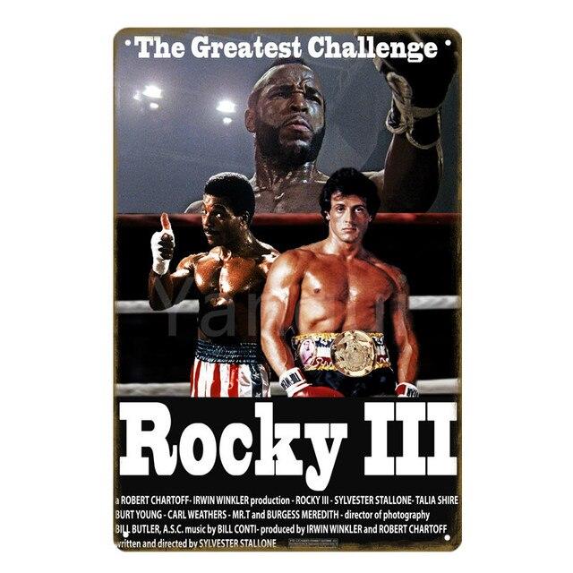 Rocky 3 Métal Mural Signe