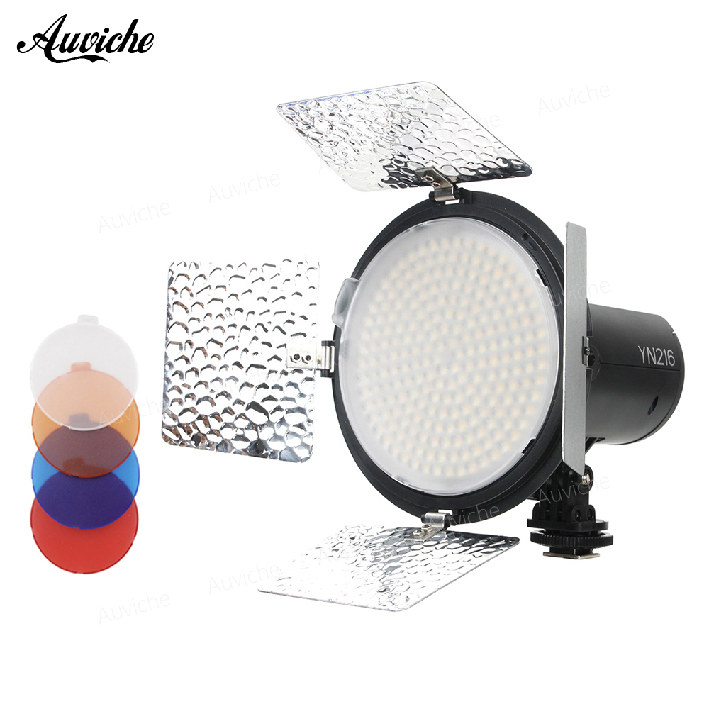 Yongnuo YN216 5500K LED Video light Fill light Photography lights for Digital camera nikon canon DV Studio video цена