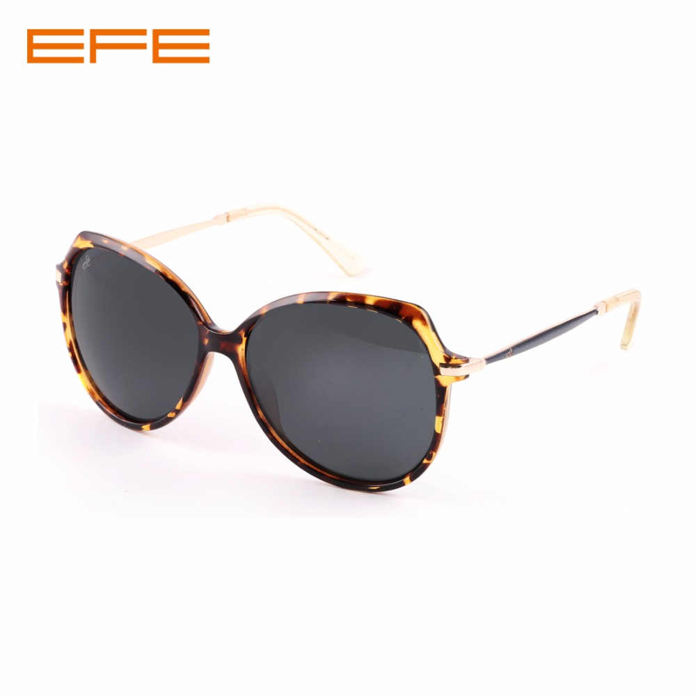 EFE 2018 New Women Polarized Sunglasses Brand Sun Glasses Metal+TR90 Frame Fashion Lightweight Eyewear Oculos de sol EB2402