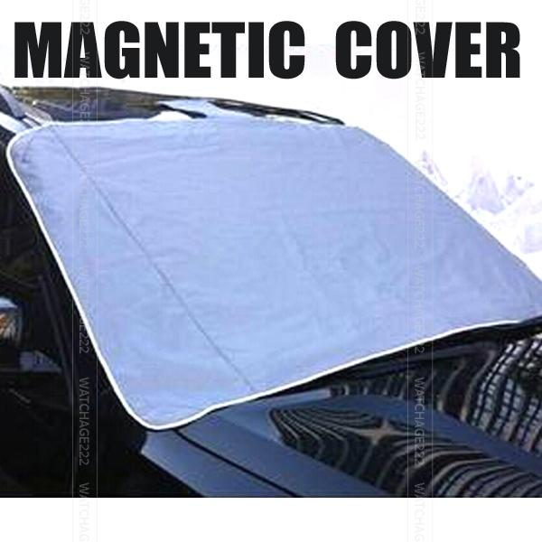 Magnetic Auto Snow Cover Car Windshield Windscreen Shade