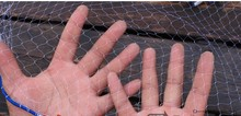 Cast Net 2.4M-7.2M size Fishing Network American Hand Cast Net High Quality Nylon Outdoor Sprots Throw Fishing Net Tool