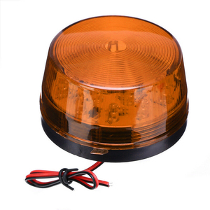 Luz LED estroboscópico de emergencia para coche, lámpara de luz trasera de señal de giro redonda, bombillas de advertencia LED ATV, para camión, motocicleta RV