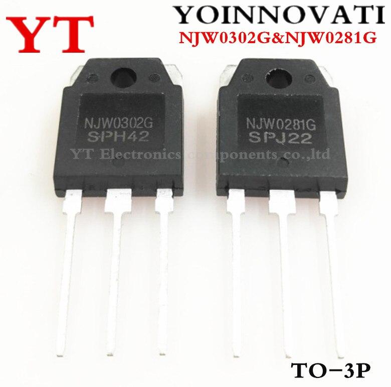 Free shipping 10pcs=5pair ( 5pcs NJW0281G + 5pcs NJW0302G ) NJW0281 NJW0302 TO-3P IC Best quality.Free shipping 10pcs=5pair ( 5pcs NJW0281G + 5pcs NJW0302G ) NJW0281 NJW0302 TO-3P IC Best quality.