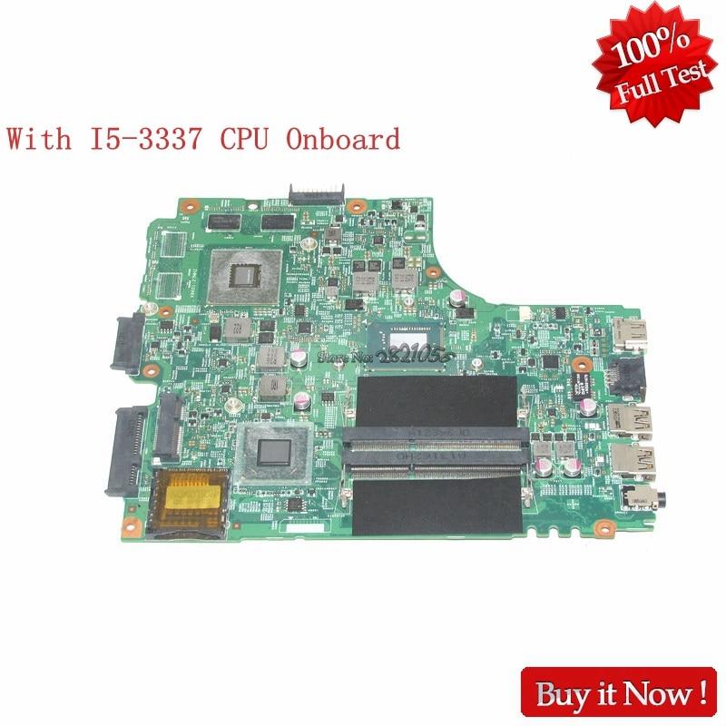 NOKOTION CN-055NJX 055NJX 55NJX 5J8Y4 Pour dell Inspiron 15R 3421 ordinateur portable carte mère SR0XL I5-3337U DDR3 GT625M