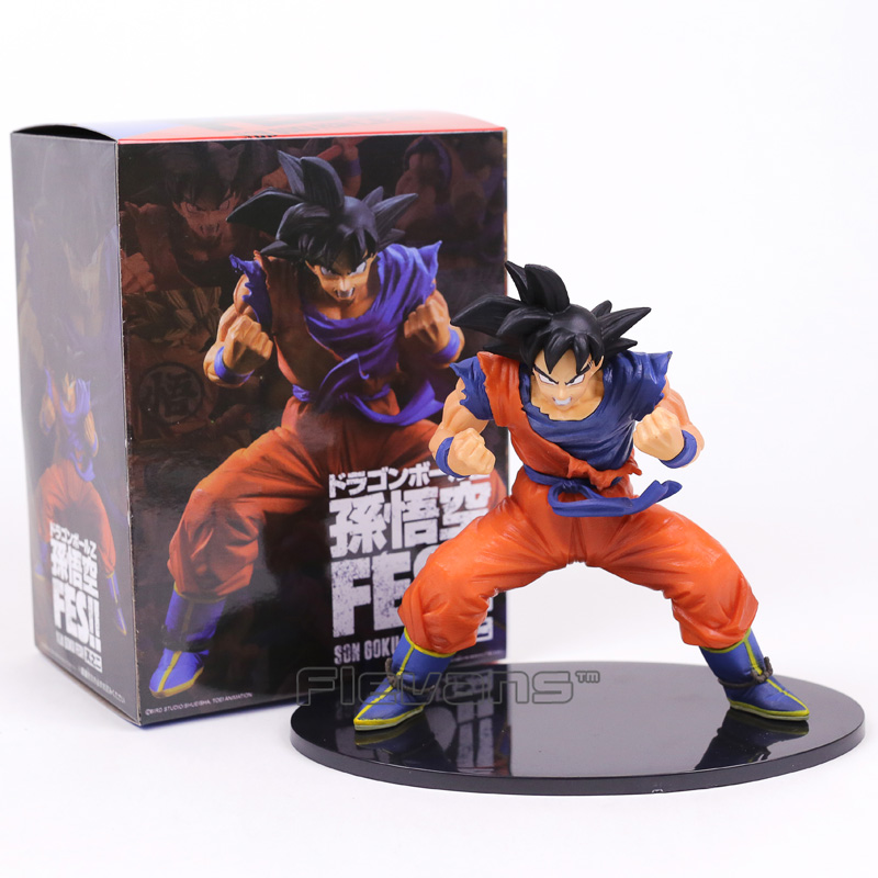 Dragon Ball Z Son Goku FES!! Kaioken PVC Figure Collectible Model Toywith Retail Box