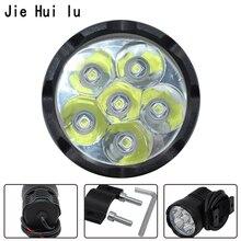 1X 90W White 6000K 7800LM T6 Chips LED Motorcycle Headlight Fog Spot HeadLamp Spotlight Waterproof Motorbike Bulb