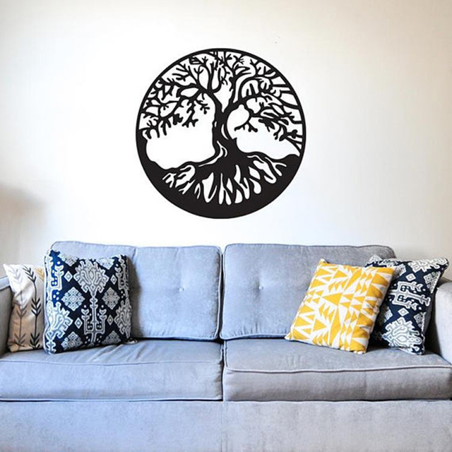 tree of life vinyl wall sticker waterproof removeable big tree wall