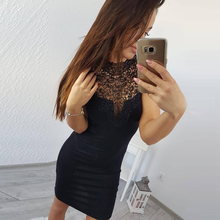 c82e88bad43a3 Galeria de dress lace black and red rose por Atacado - Compre Lotes ...