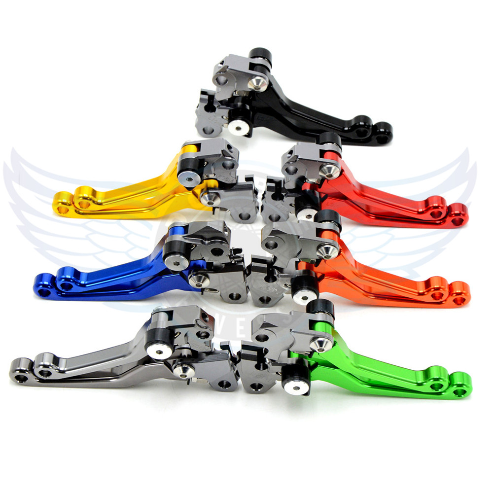 ФОТО motorcycle titanium increased torque of cnc pivot brake clutch levers For KTM AJP PR4 125/200 2004 2005 2006 2007 2008 2009