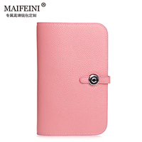 2016 Fashion Explosion Models Leather Woman Wallet Large Capacity Pumping With Female Cowhide Litchi Profile Money